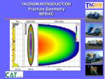 tacrom introduction fracture geometry mfrac