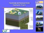 tacrom introduction hydraulic fracs1
