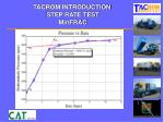 tacrom introduction step rate test minfrac