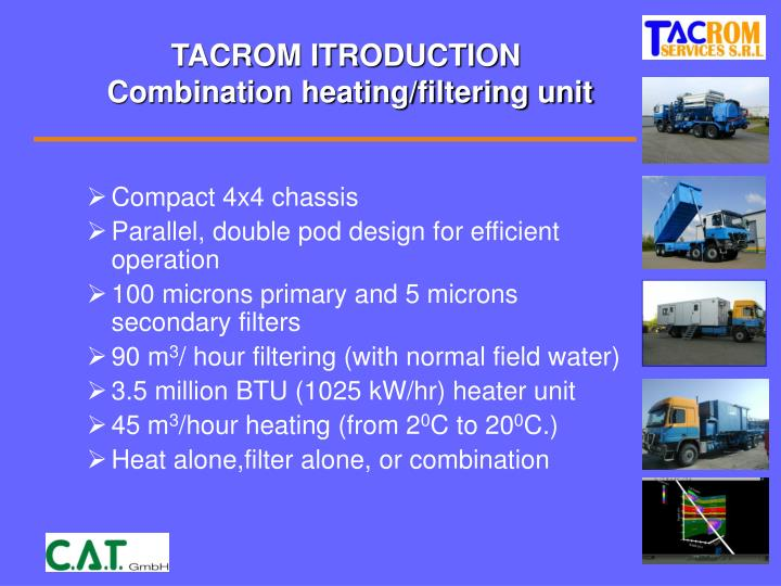 TACROM ITRODUCTION