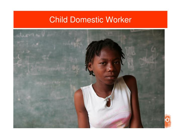 Child Domestic Worker