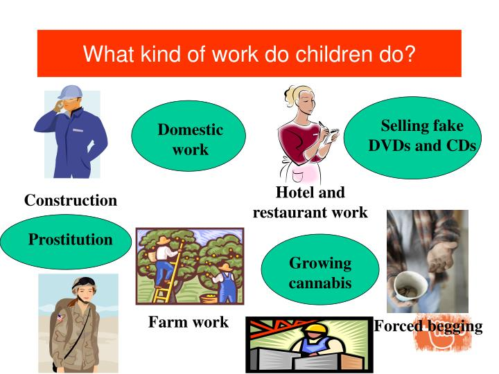 What kind of work do children do?