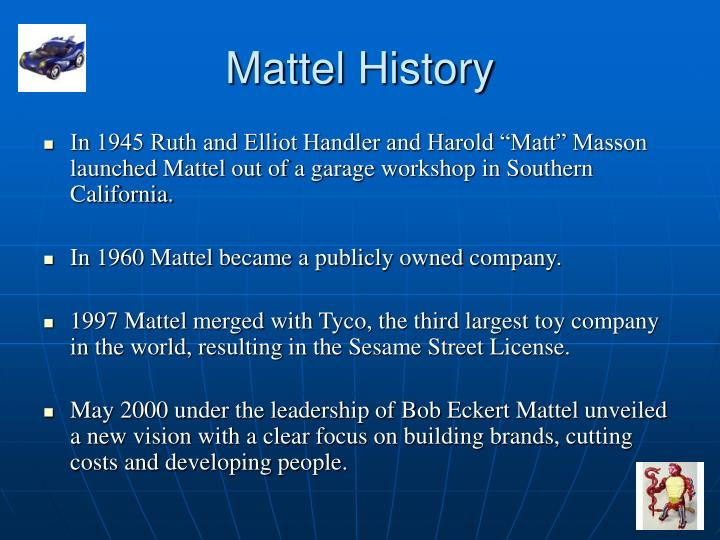 Mattel History