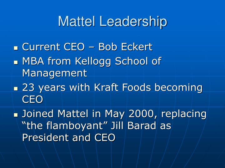 Mattel Leadership