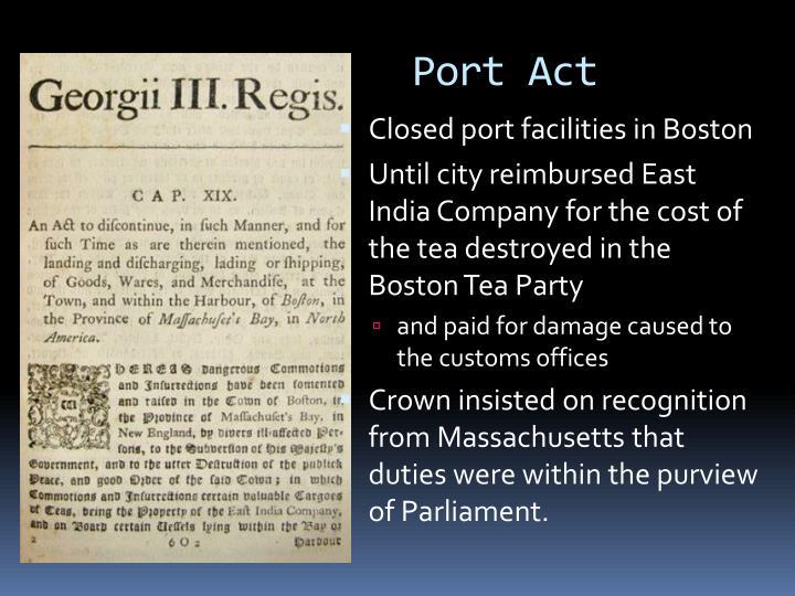 Port Act