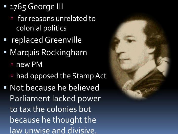 1765 George III