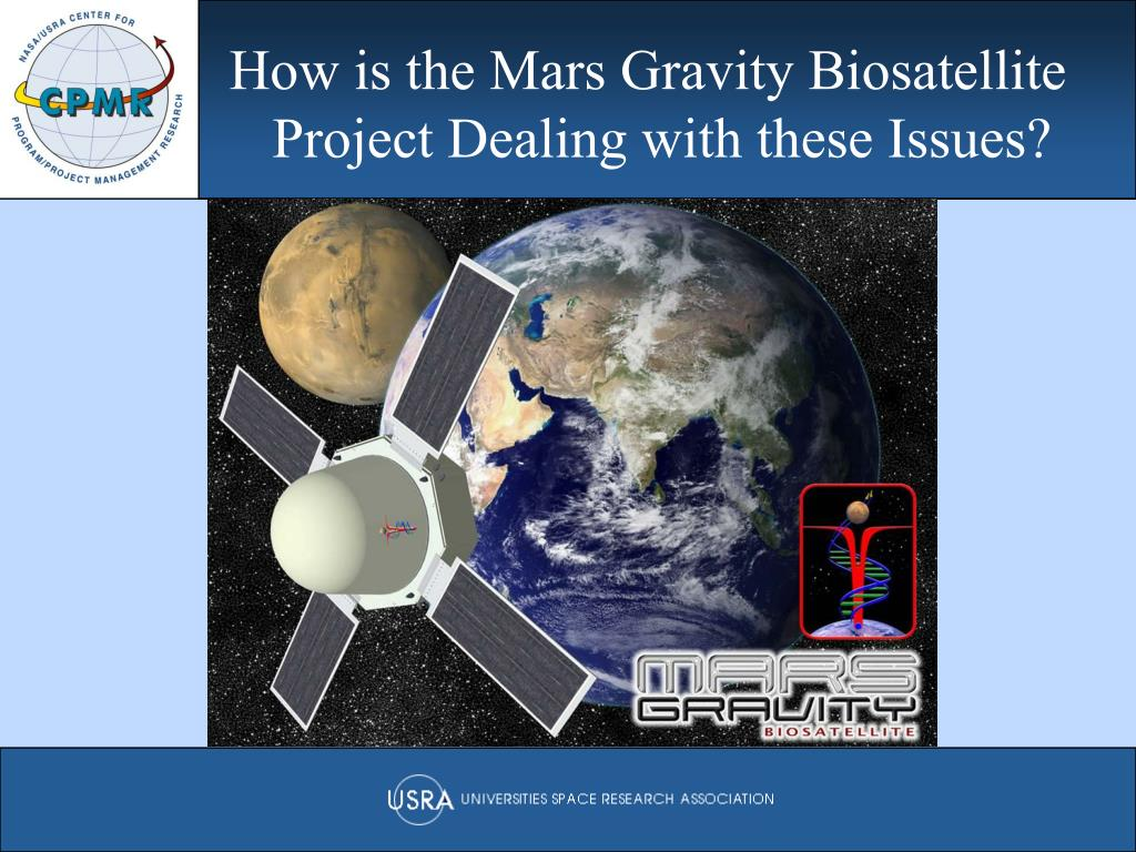 How is the Mars Gravity Biosatellite