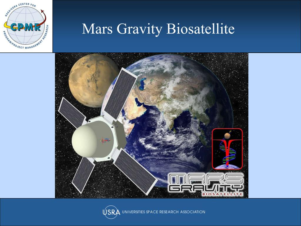 Mars Gravity Biosatellite