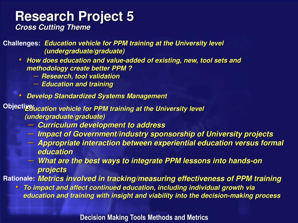 Research Project 5