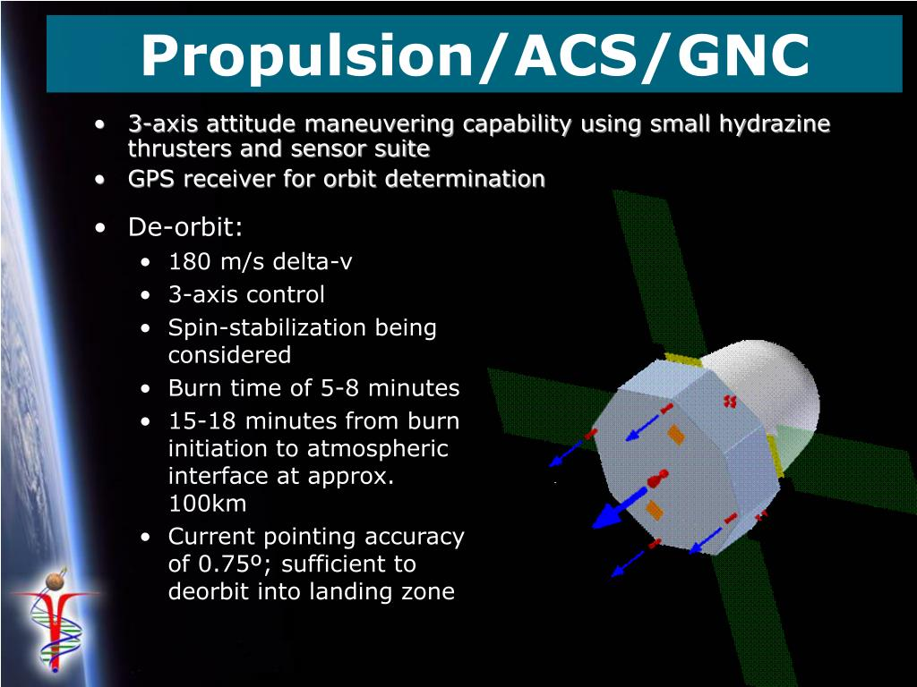 Propulsion/ACS/GNC