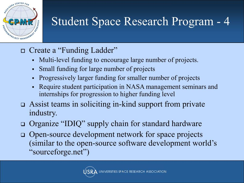Student Space Research Program - 4