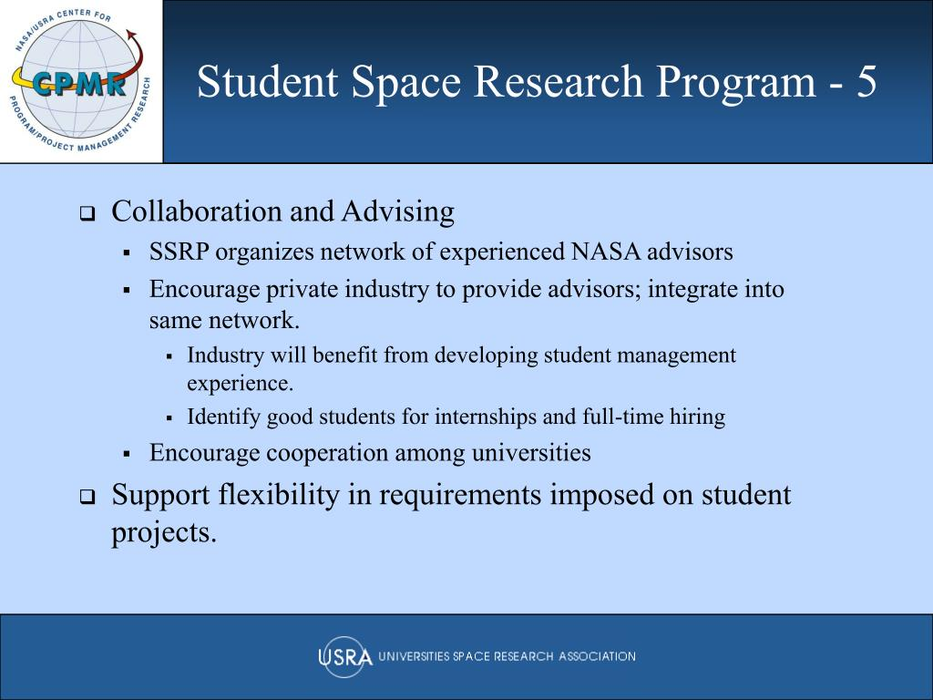 Student Space Research Program - 5