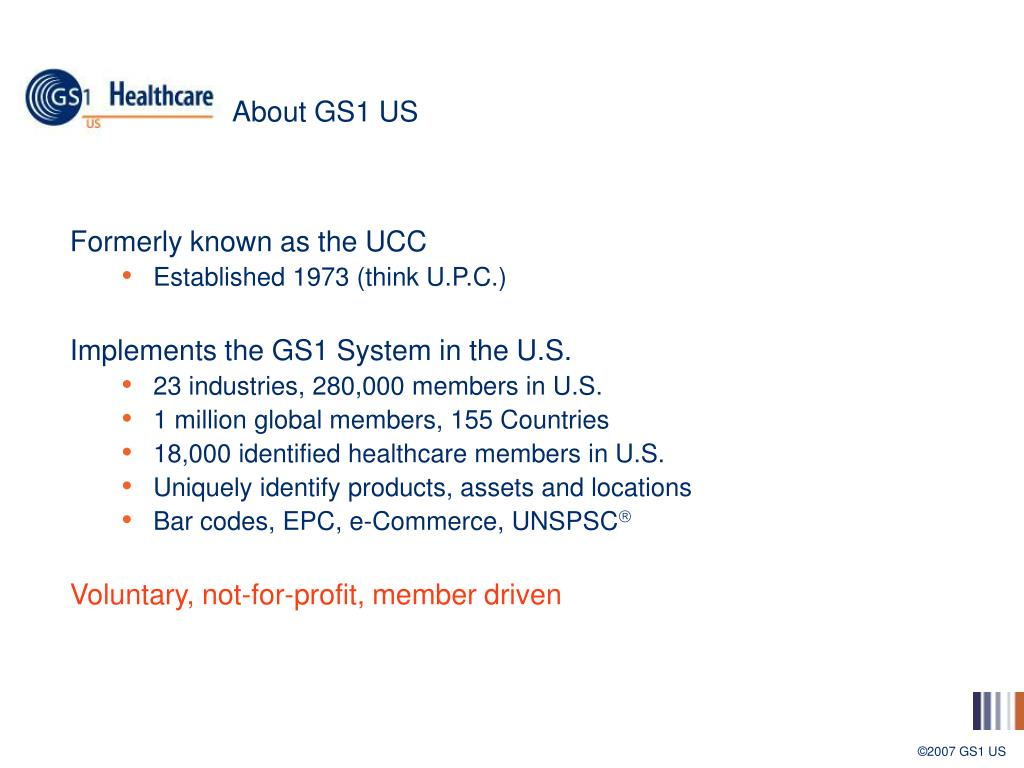 About GS1 US