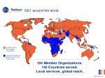 gs1 around the world