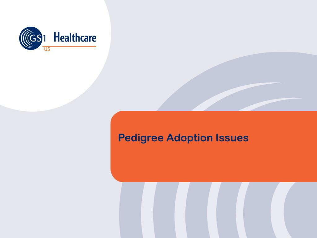 Pedigree Adoption Issues