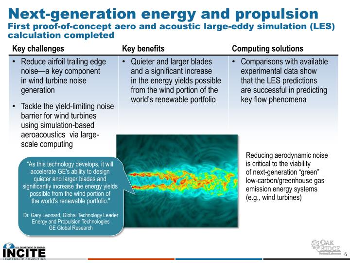 Next-generation energy and propulsion
