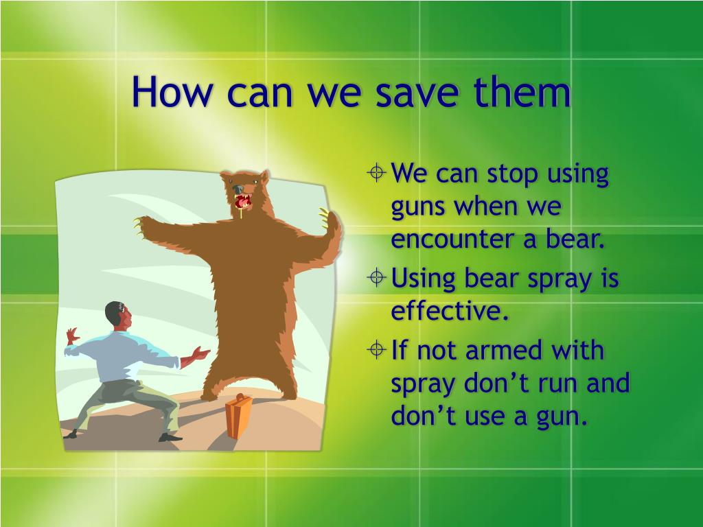 How can we save them