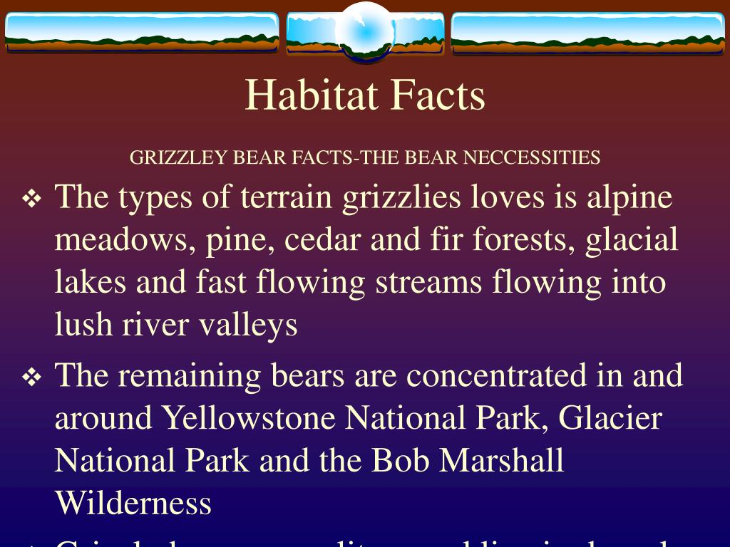 Habitat Facts