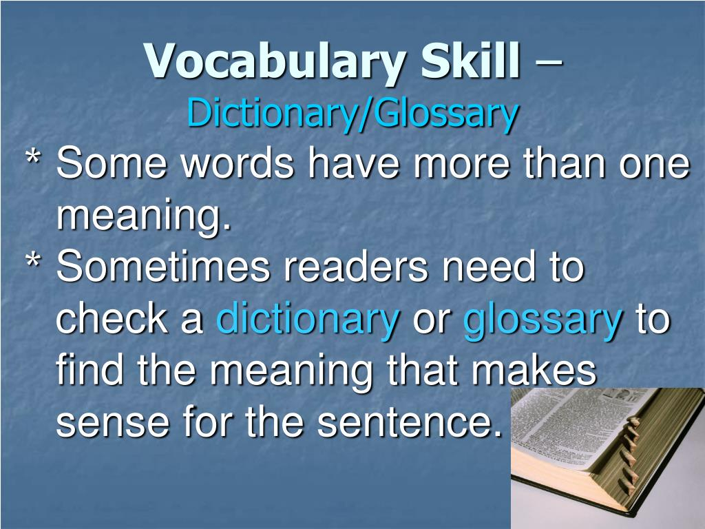 Vocabulary Skill