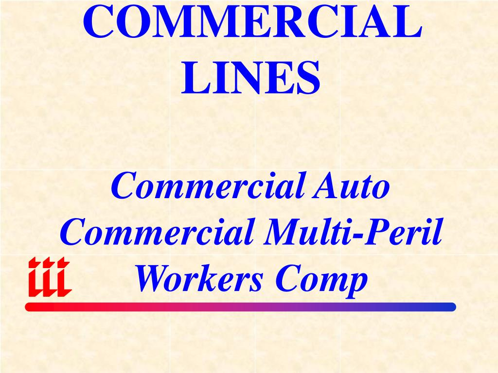COMMERCIAL LINES
