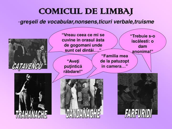 COMICUL DE LIM
