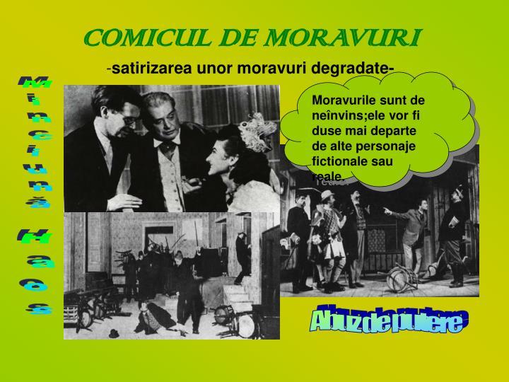 COMICUL DE MORAVURI