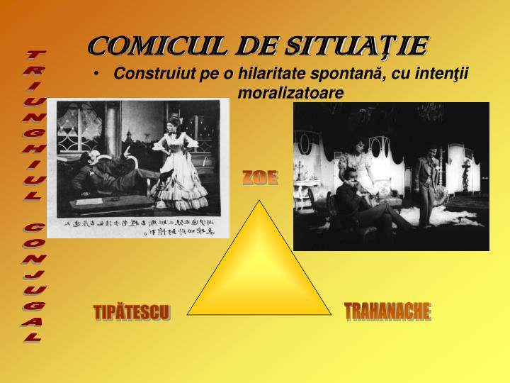 COMICUL DE SITUA