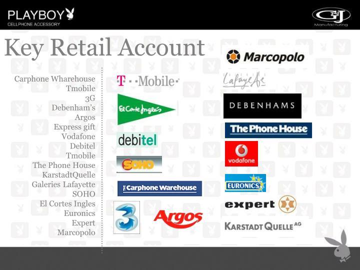 Key Retail Account