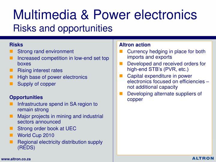 Multimedia & Power electronics