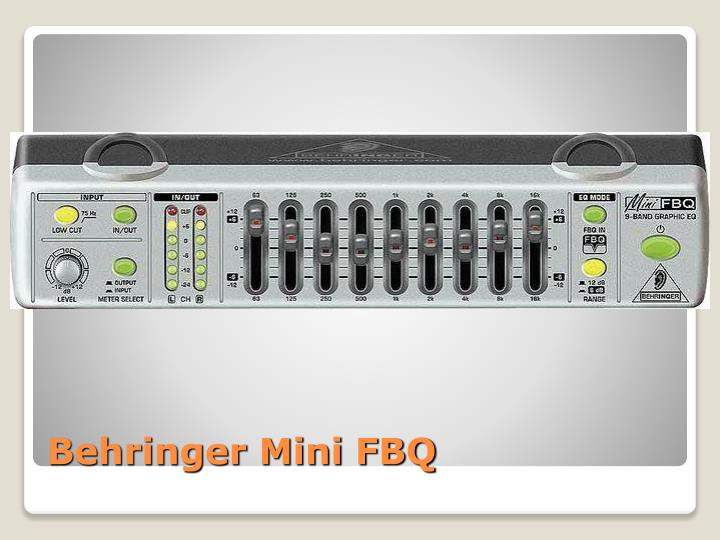 Behringer Mini FBQ