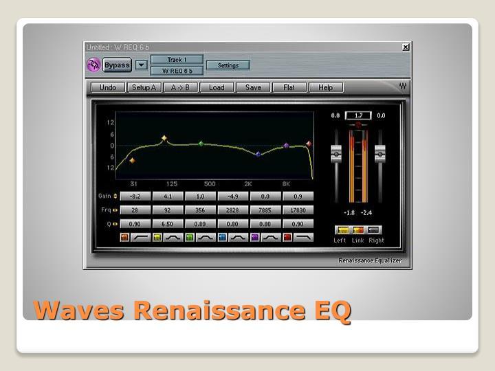 Waves Renaissance EQ