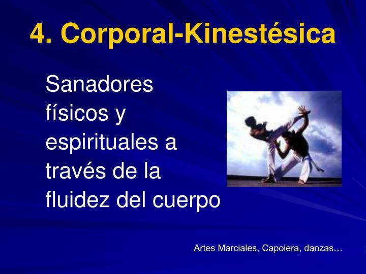 4. Corporal-Kinestésica