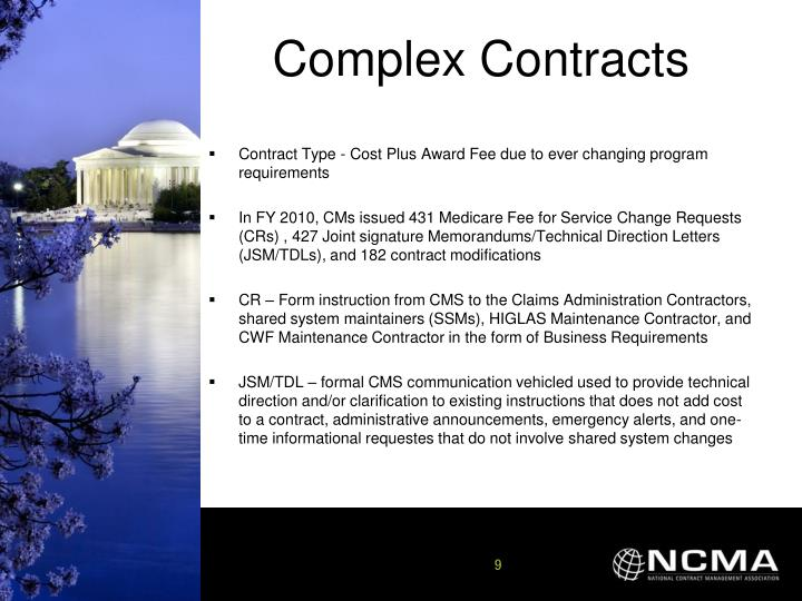 Complex Contracts