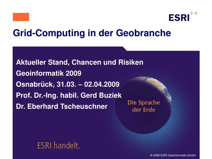 Grid computing in der geobranche l.jpg