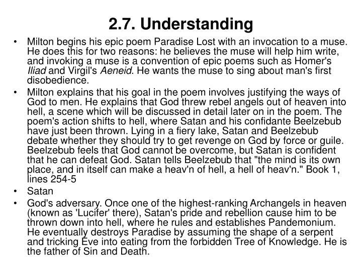 2.7. Understanding