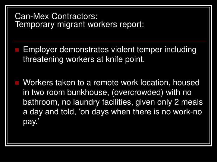 Can-Mex Contractors: