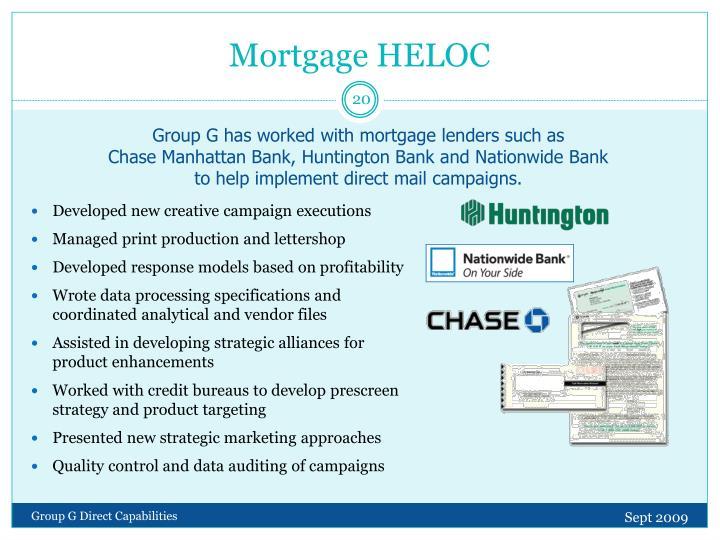 Mortgage HELOC