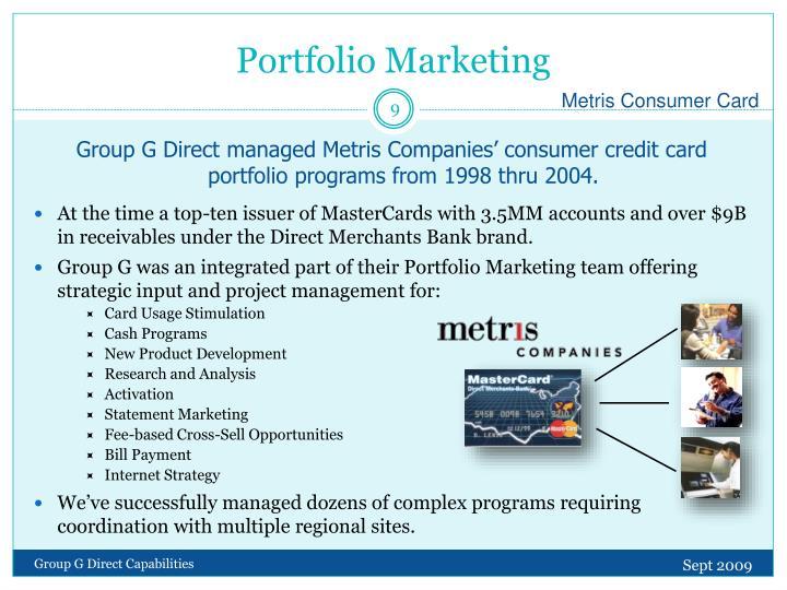 Portfolio Marketing