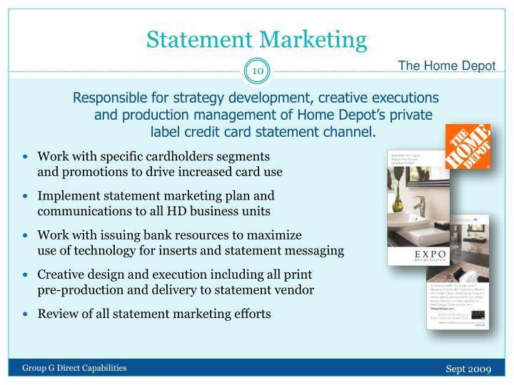 Statement Marketing