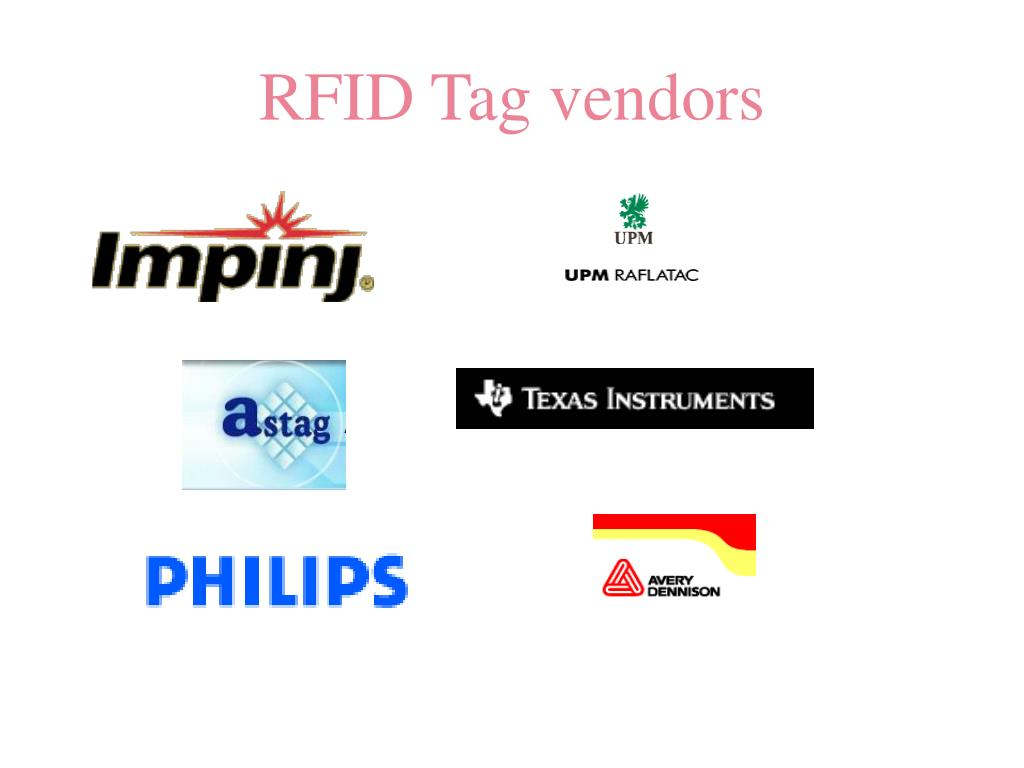 RFID Tag vendors