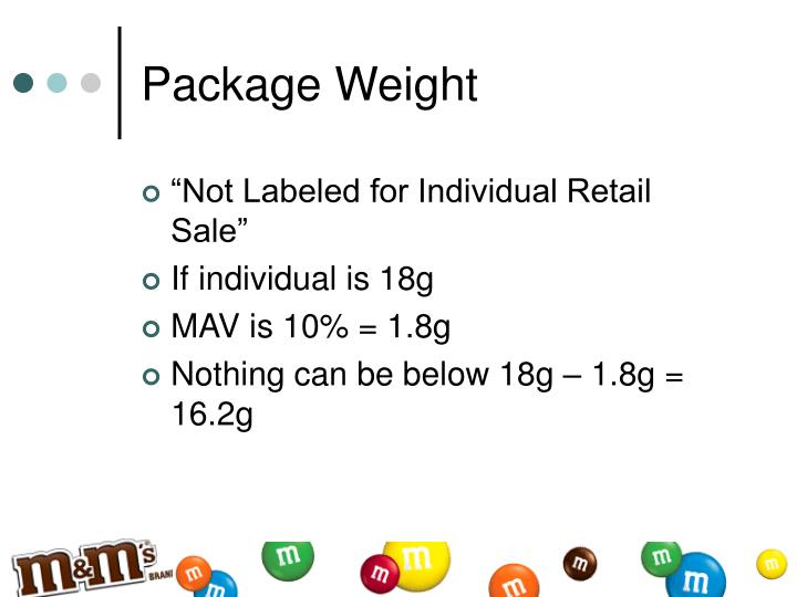 Package Weight