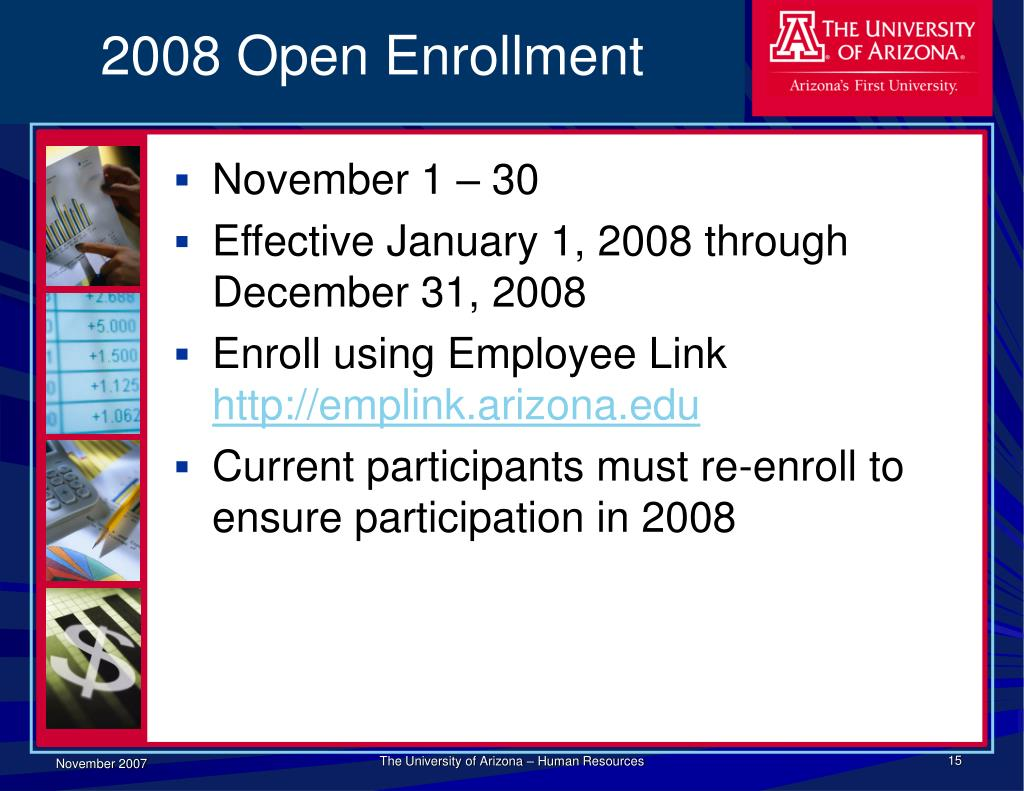 2008 Open Enrollment