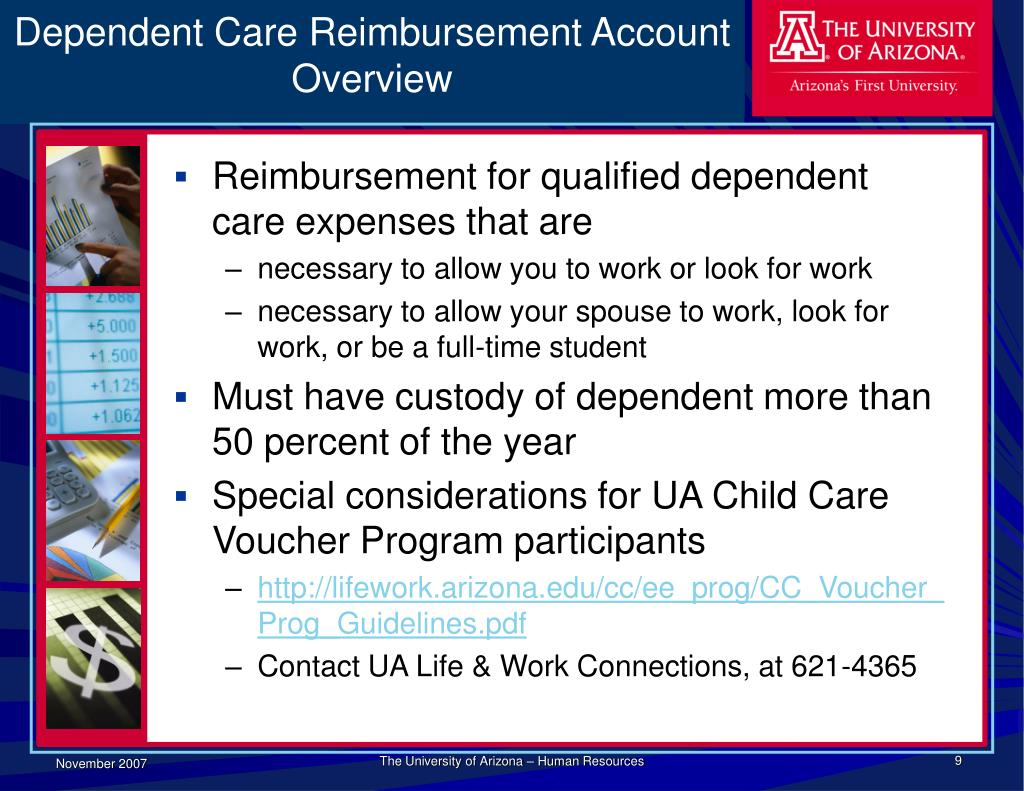 Dependent Care Reimbursement Account Overview