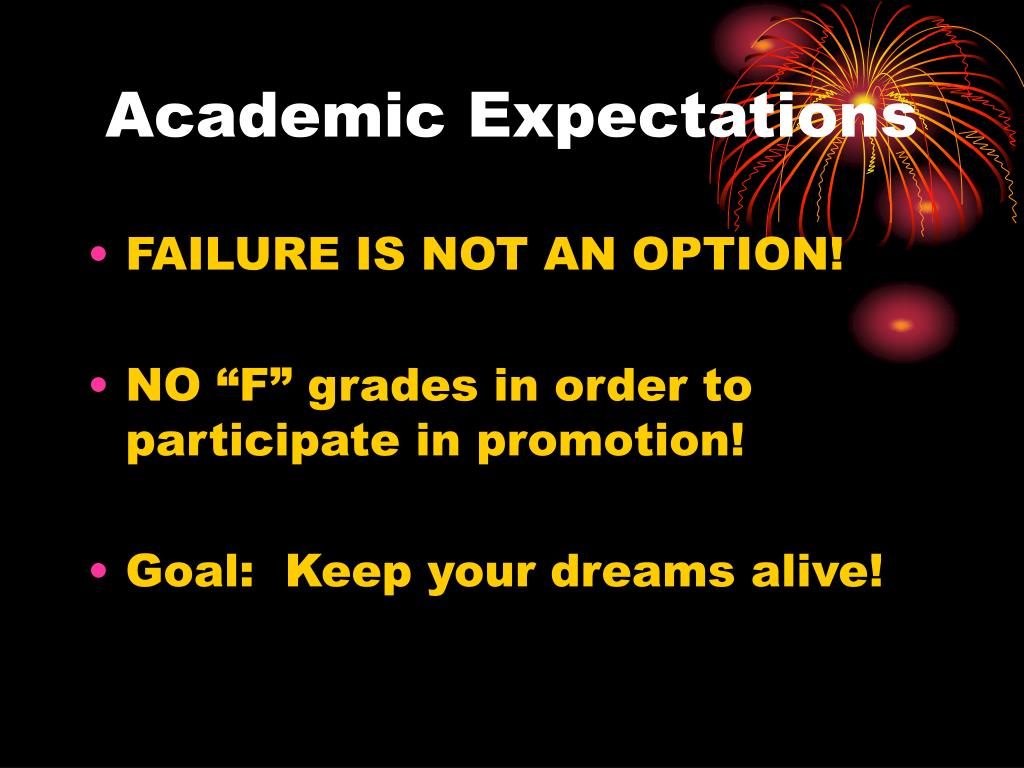 Academic Expectations