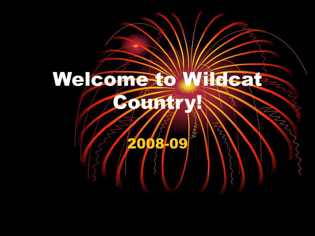 Welcome to Wildcat Country!