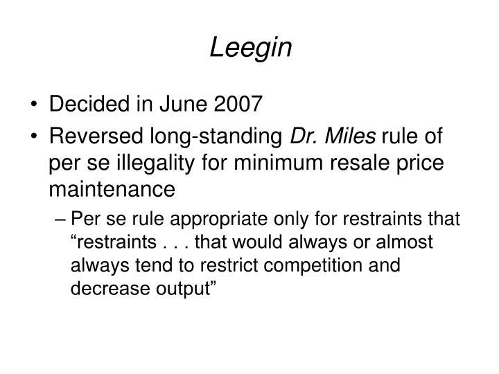 Leegin
