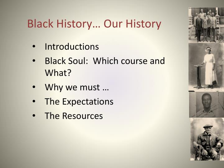 Black history our history1