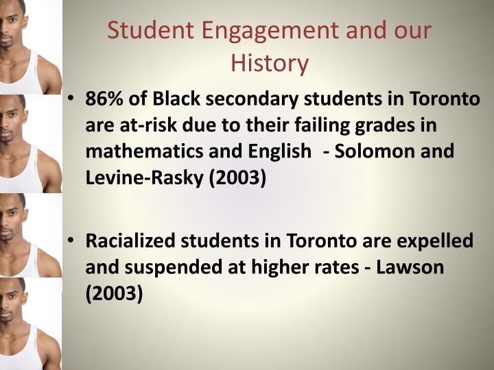 Student Engagement and our History