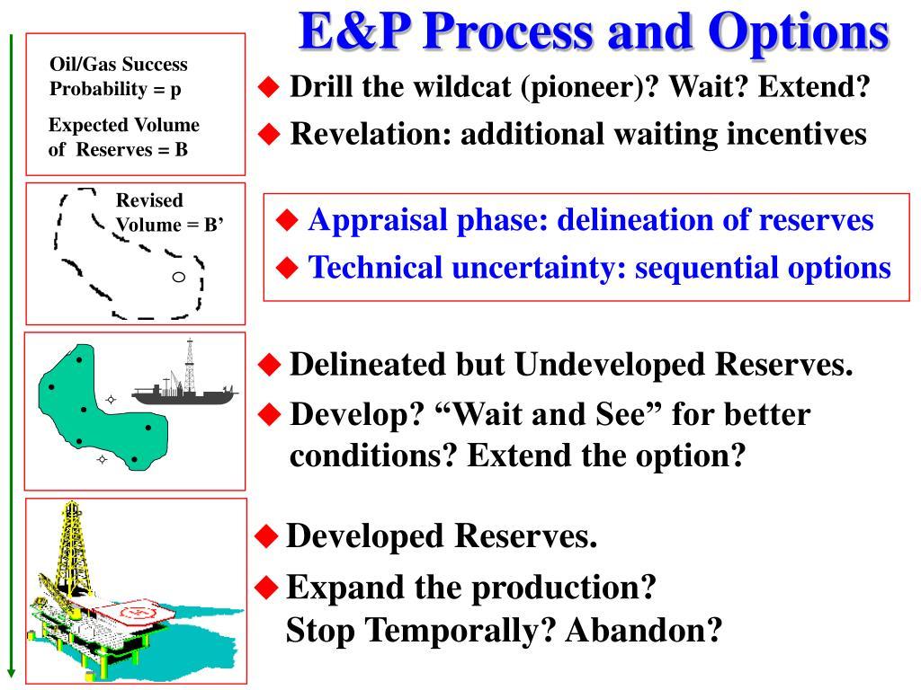 E&P Process and Options