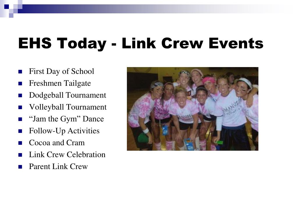 EHS Today - Link Crew Events